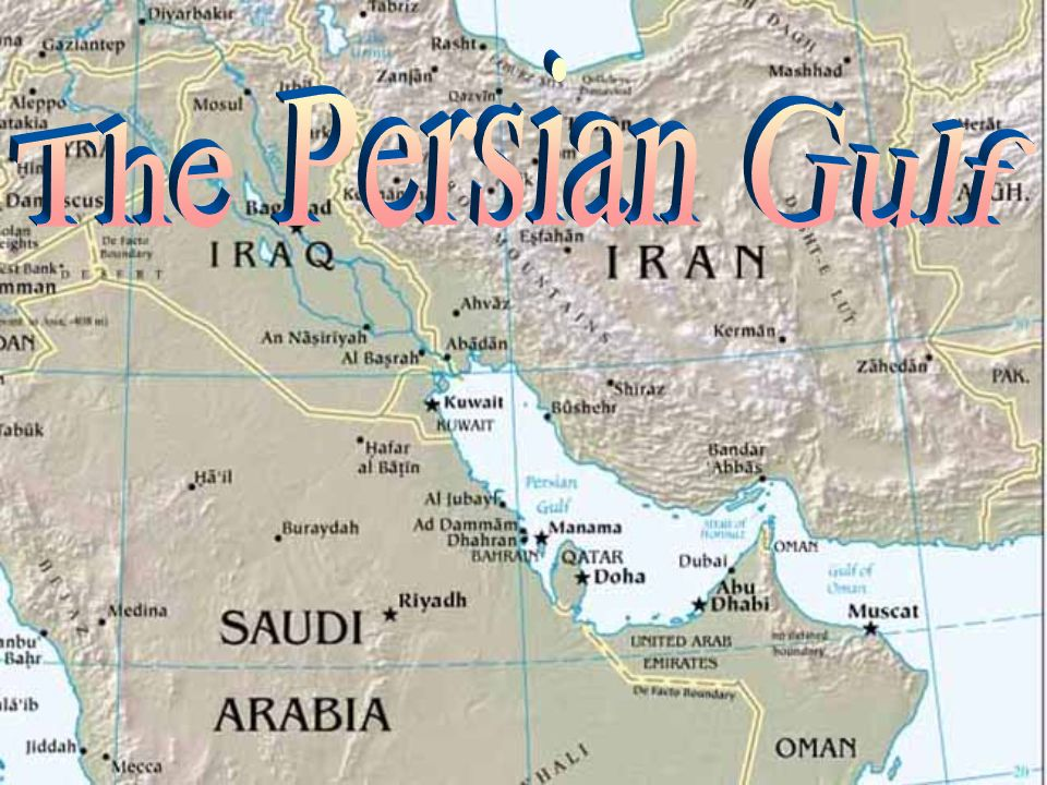 Title Page – The Persian Gulf