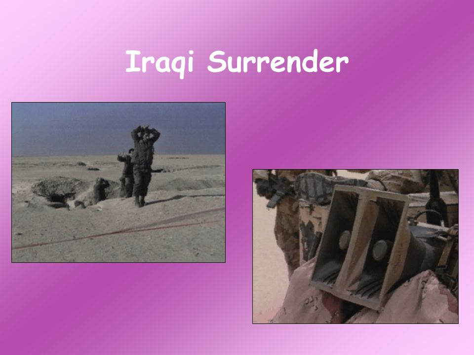 Iraqi Surrender