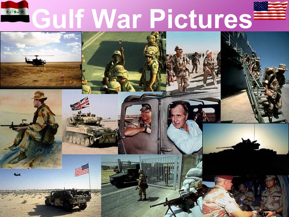 Gulf War Pictures