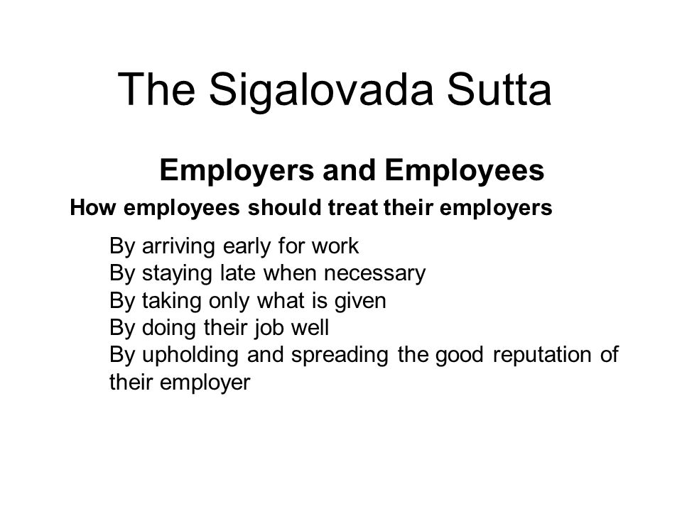 Employers and Employees