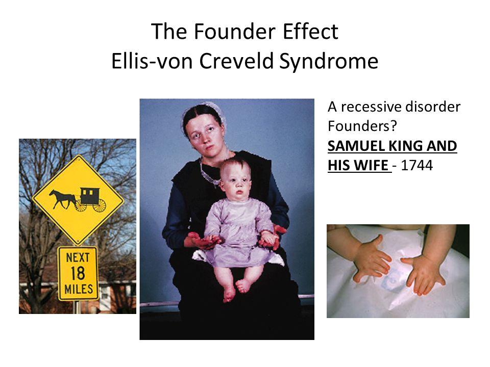 The Founder Effect Ellis-von Creveld Syndrome