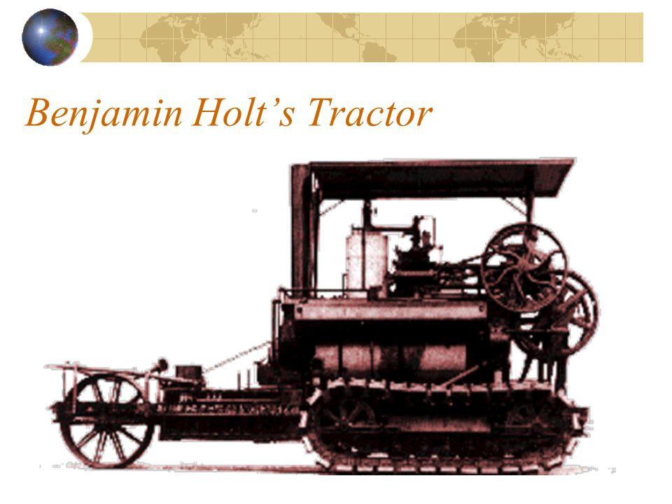 Benjamin Holt's Tractor