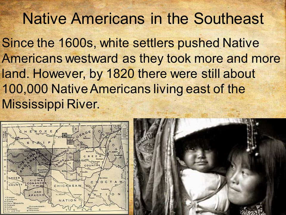 Native Americans in the Southeast