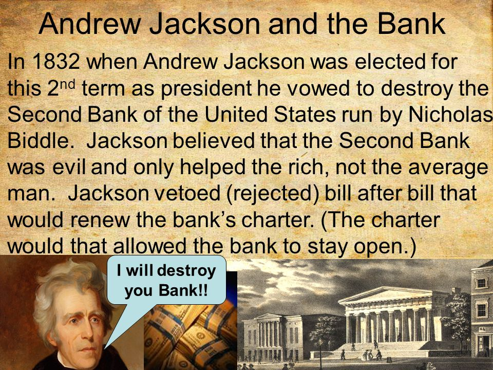 Andrew Jackson and the Bank