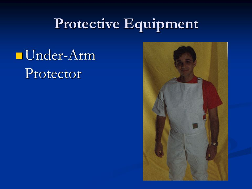 Protective Equipment Under-Arm Protector