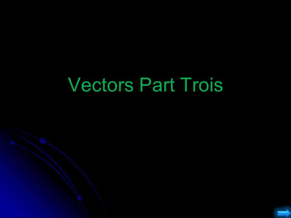 Vectors Part Trois