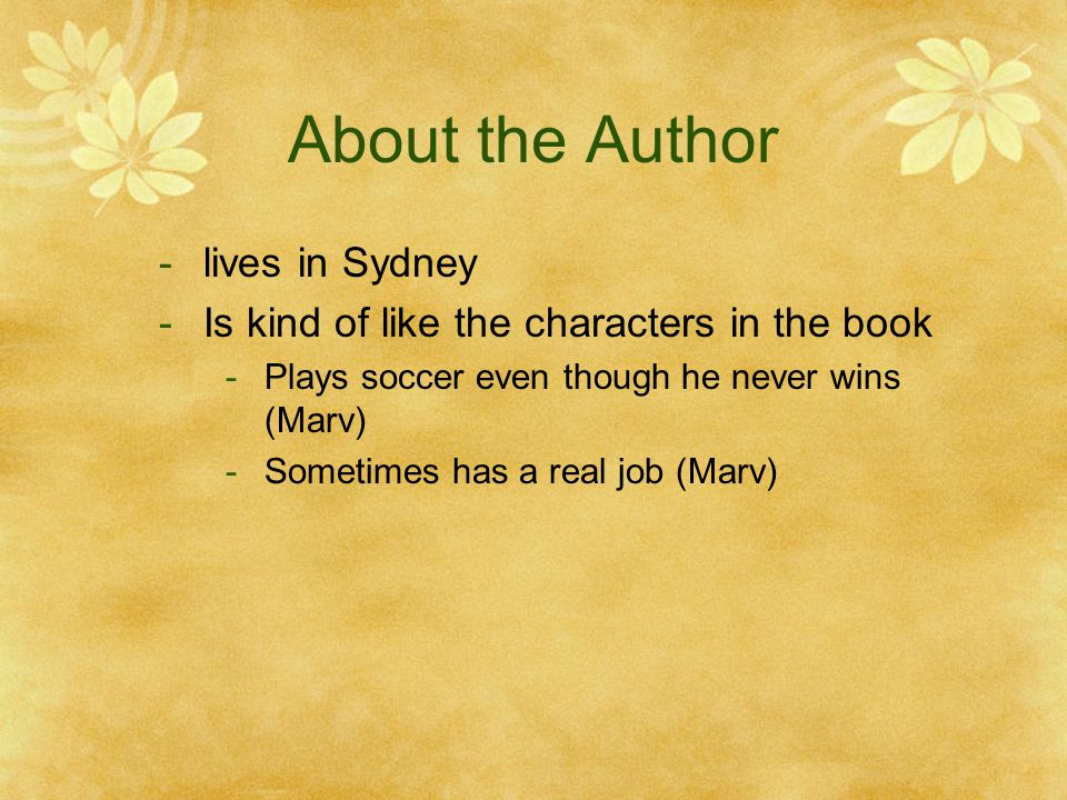About the Author lives in Sydney