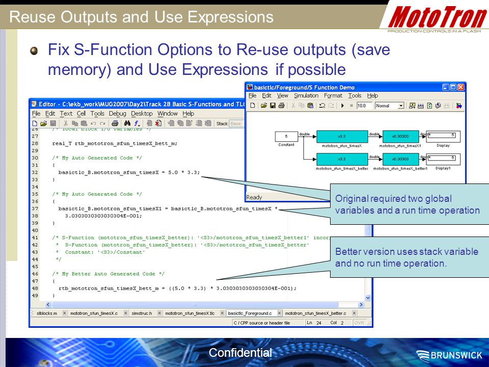 Reuse Outputs and Use Expressions