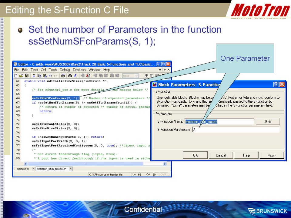 Editing the S-Function C File