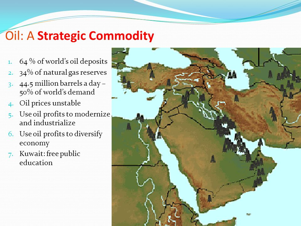 Oil: A Strategic Commodity