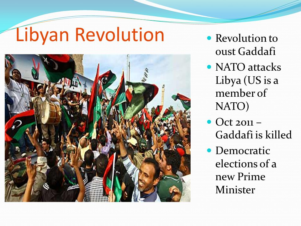Libyan Revolution Revolution to oust Gaddafi