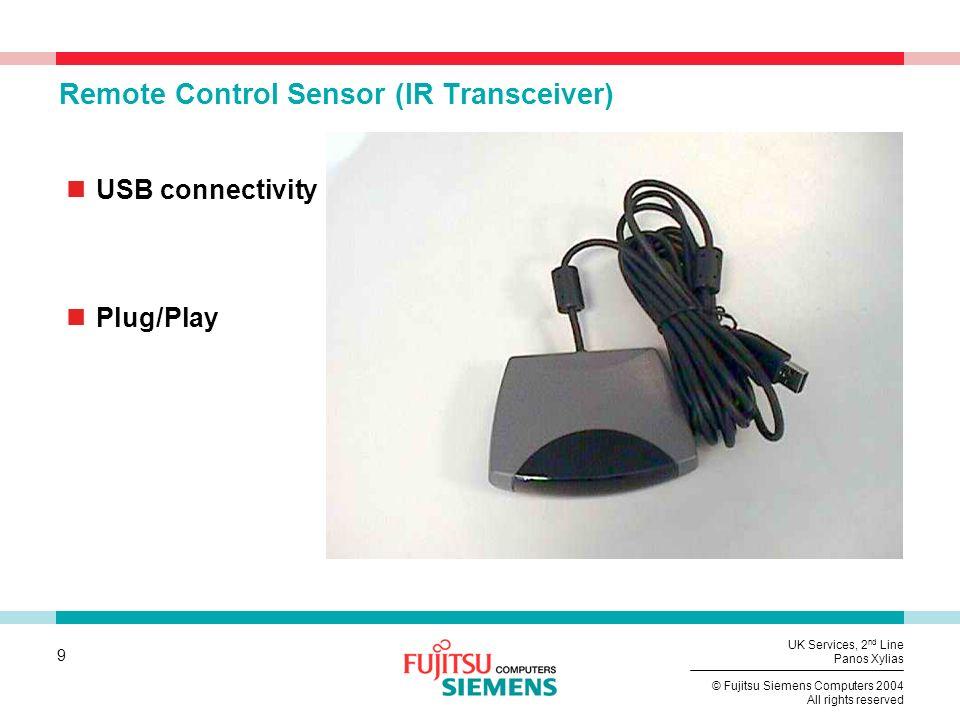 Remote Control Sensor (IR Transceiver)
