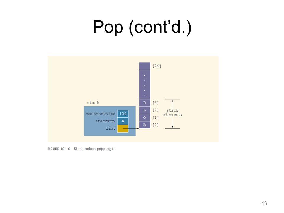 Pop (cont'd.)