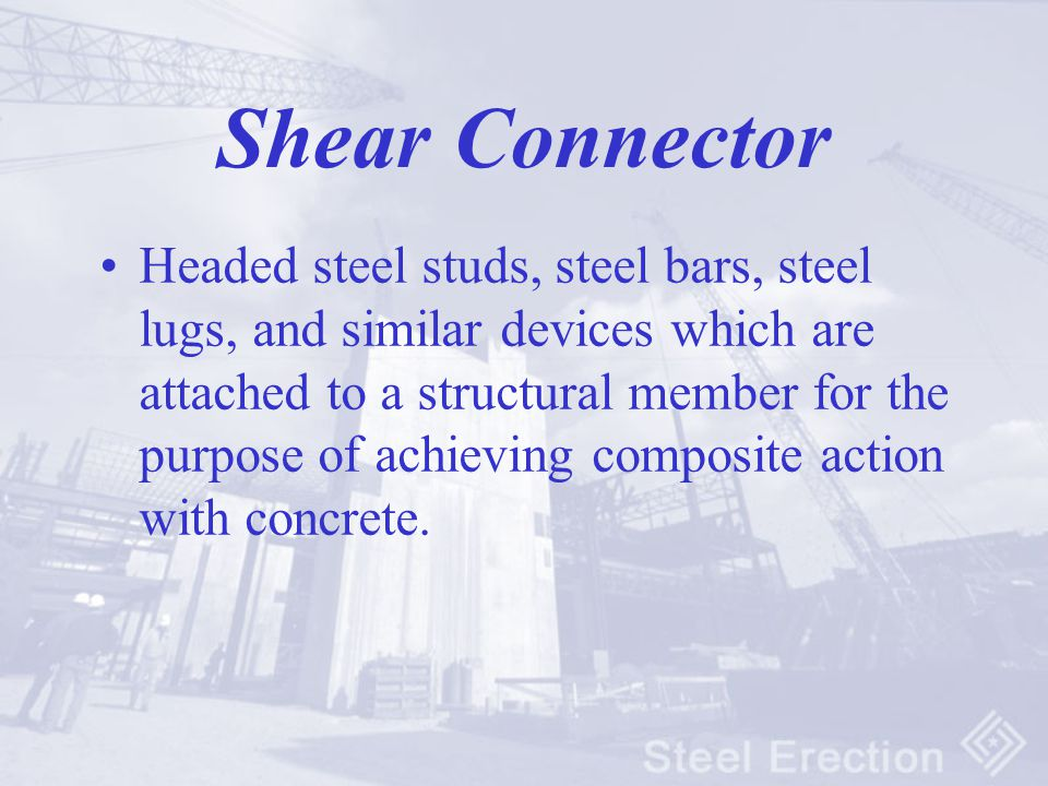 Shear Connector