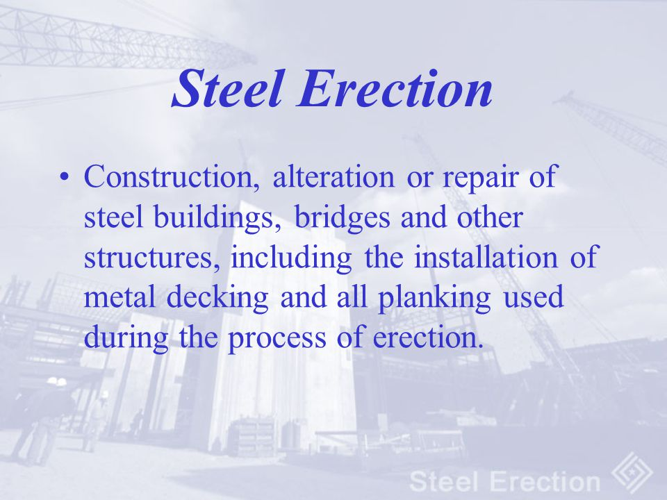 Steel Erection