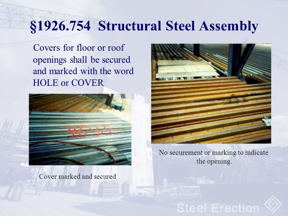 §1926.754 Structural Steel Assembly
