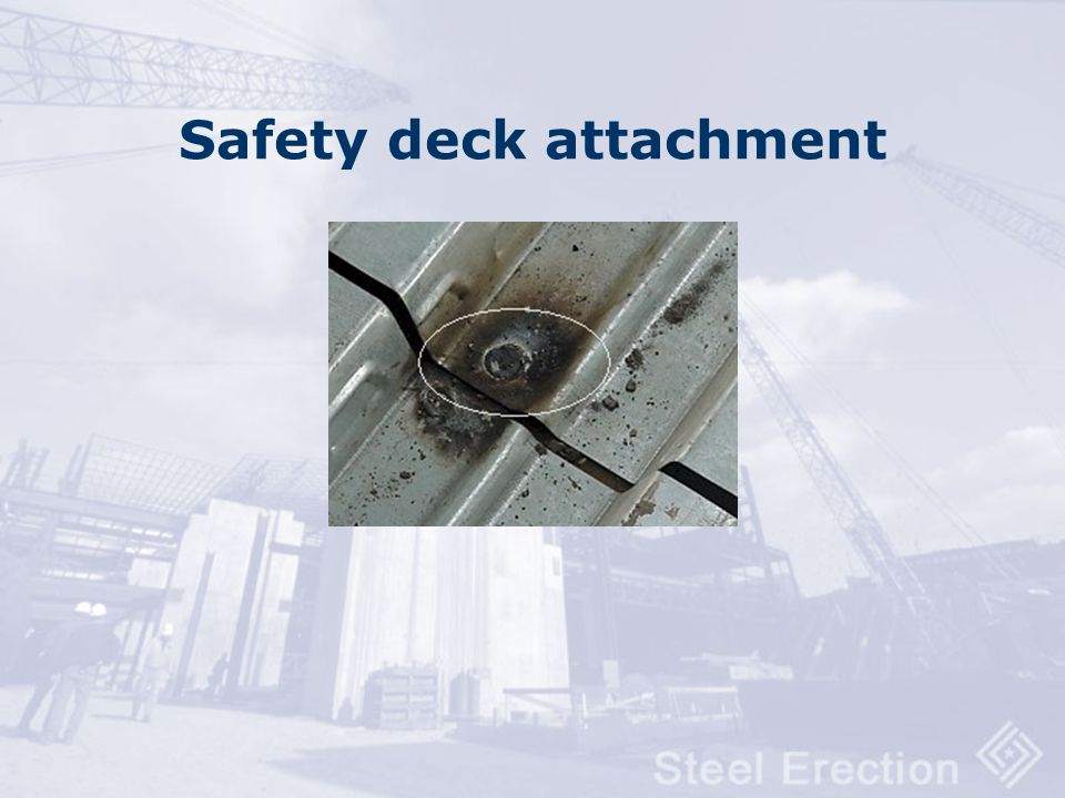Safety deck attachment