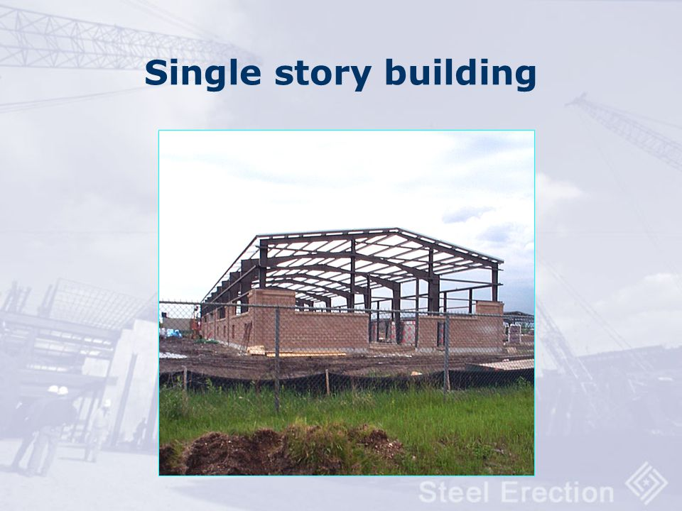 Single story building