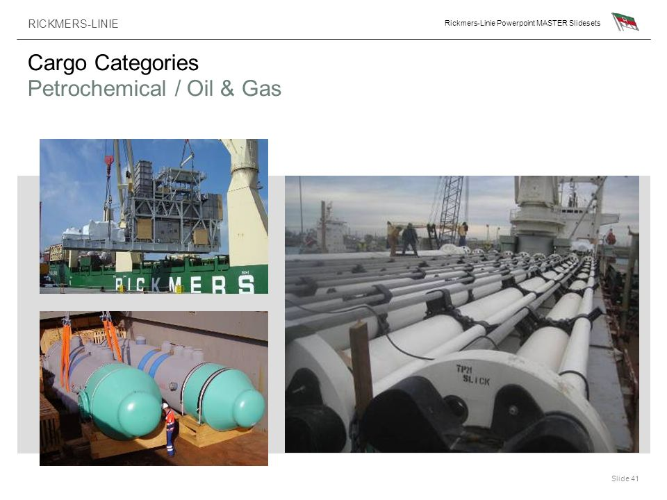 Cargo Categories Petrochemical / Oil & Gas