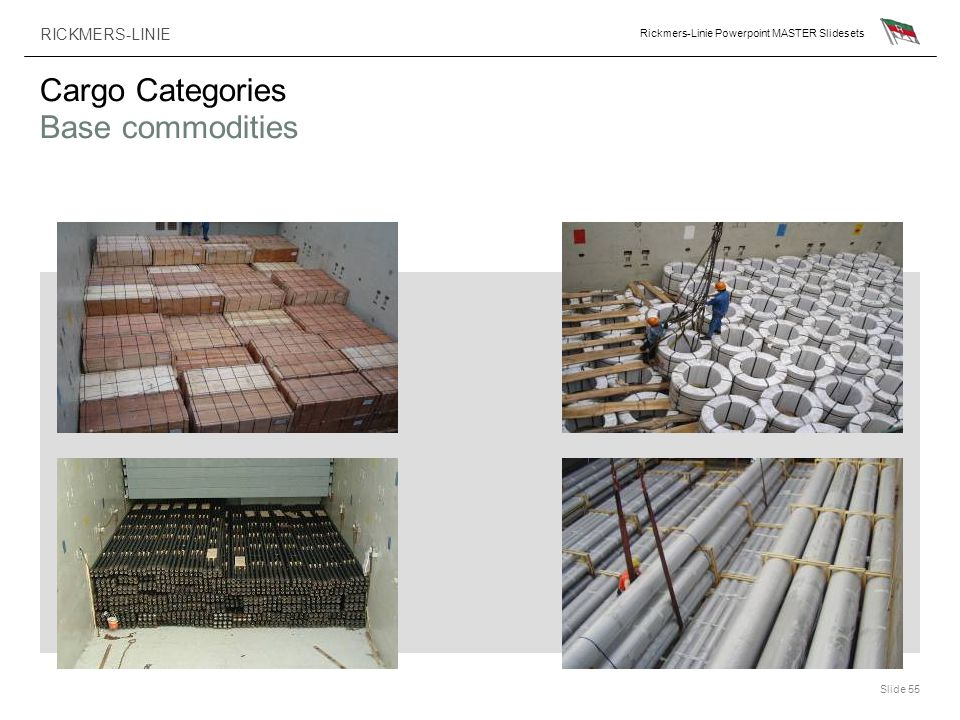 Cargo Categories Base commodities