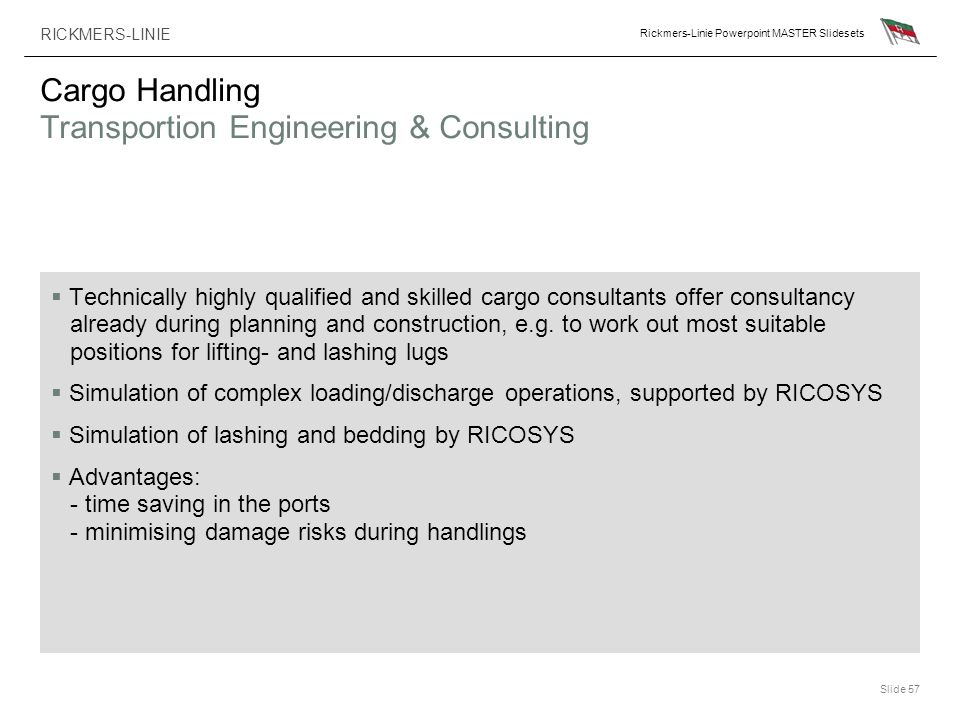 Cargo Handling Transportion Engineering & Consulting