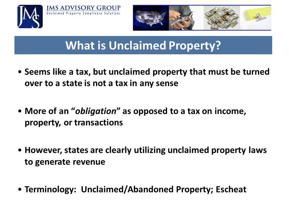 What is Unclaimed Property