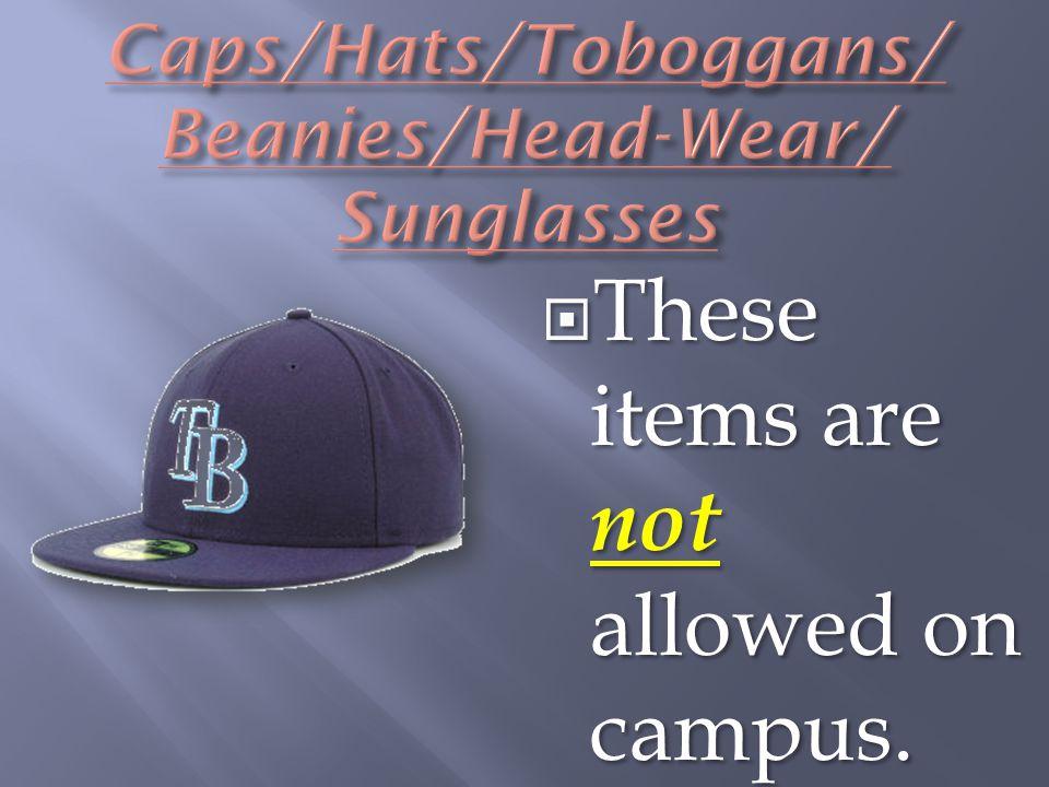 Caps/Hats/Toboggans/ Beanies/Head-Wear/ Sunglasses