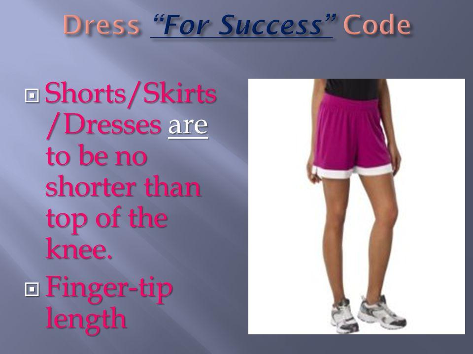 Dress For Success Code