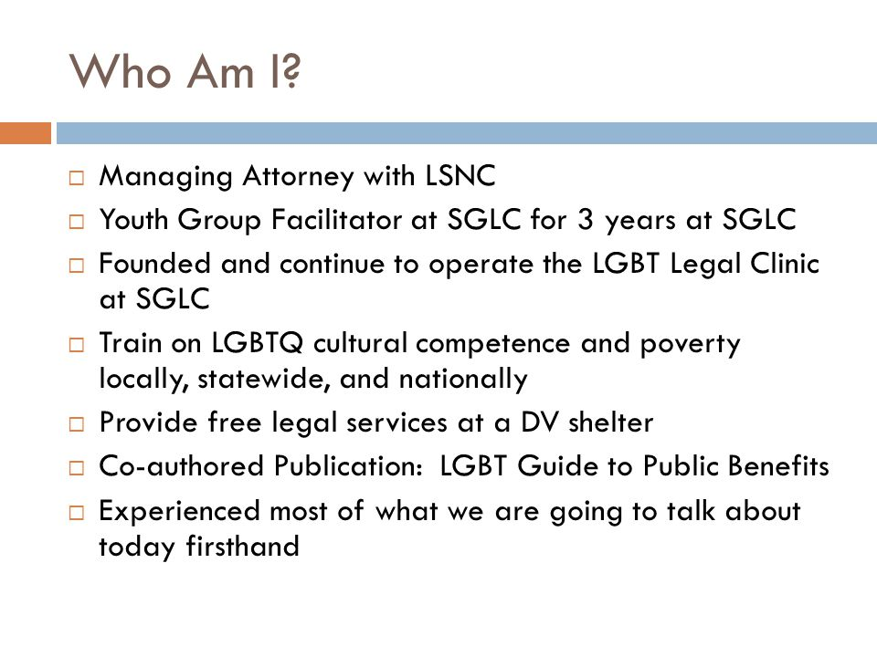 Who Am I Managing Attorney with LSNC