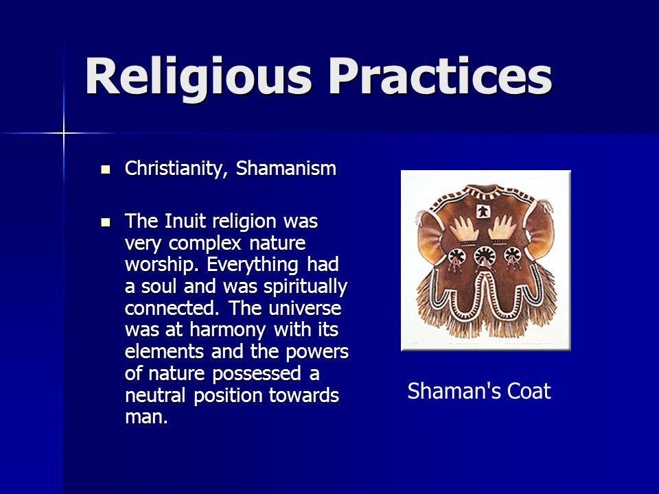 Religious Practices Shaman s Coat Christianity, Shamanism