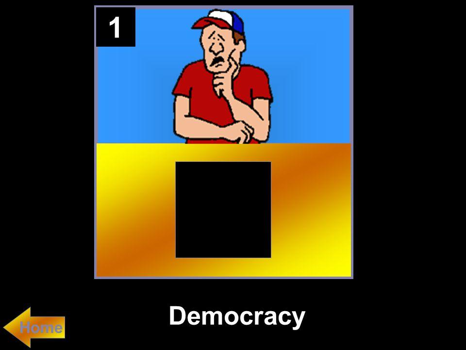 1 Democracy Home