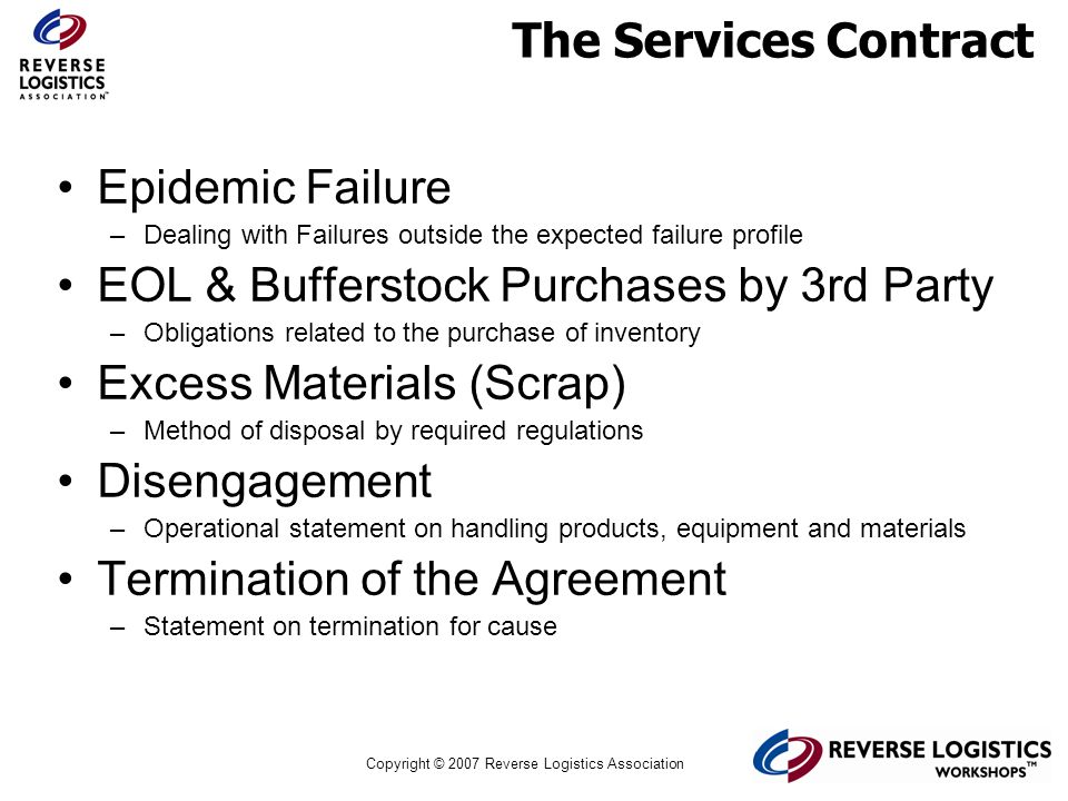 EOL & Bufferstock Purchases by 3rd Party Excess Materials (Scrap)