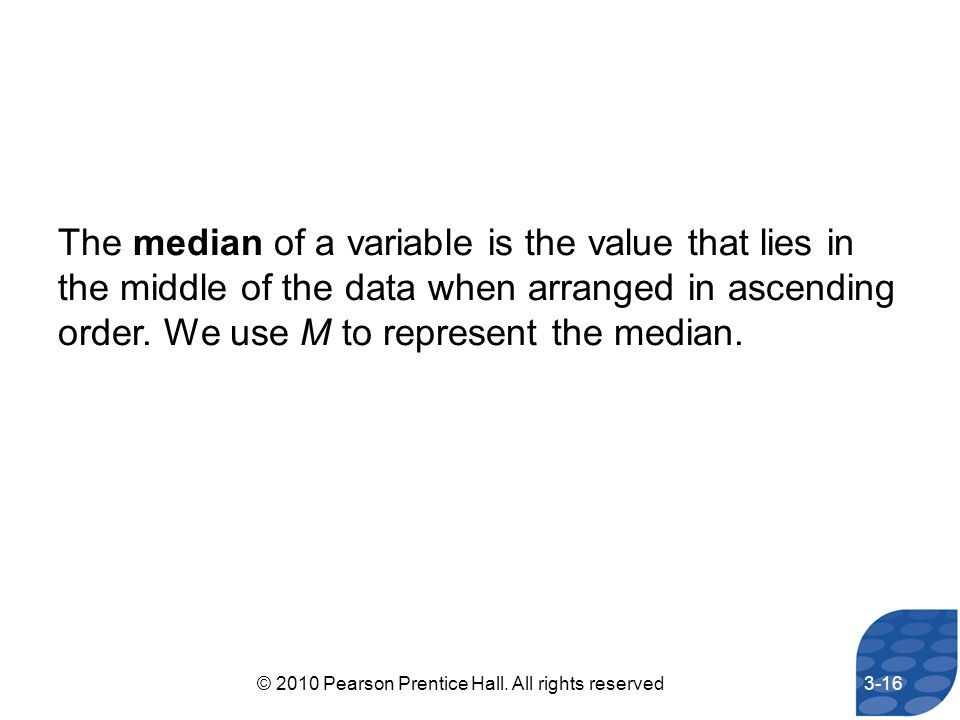 © 2010 Pearson Prentice Hall. All rights reserved