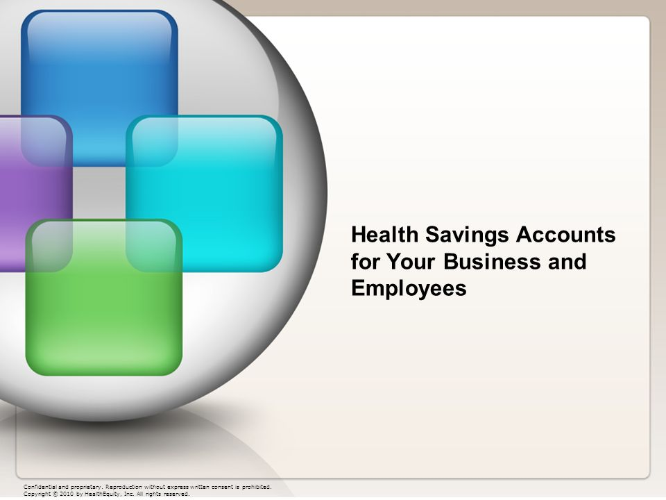 Health Savings Accounts for Your Business and Employees