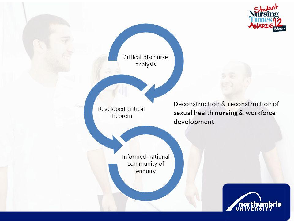 Deconstruction & reconstruction of sexual health nursing & workforce
