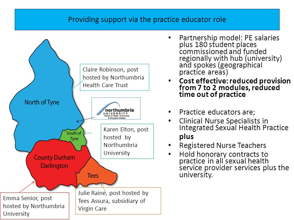 Providing support via the practice educator role