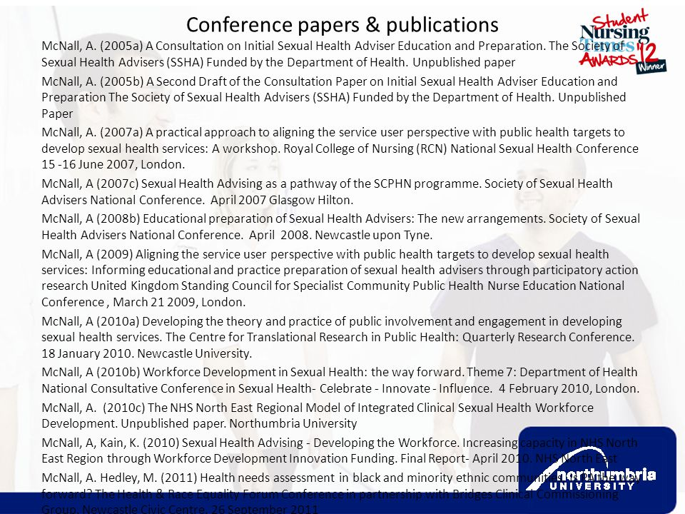 Conference papers & publications