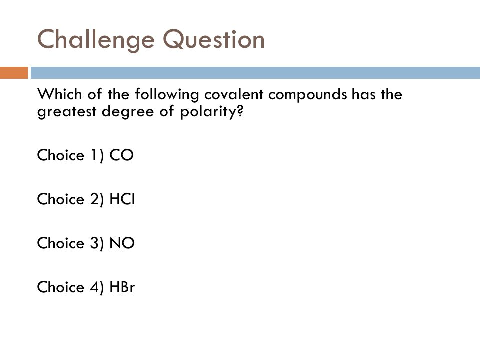 Challenge Question