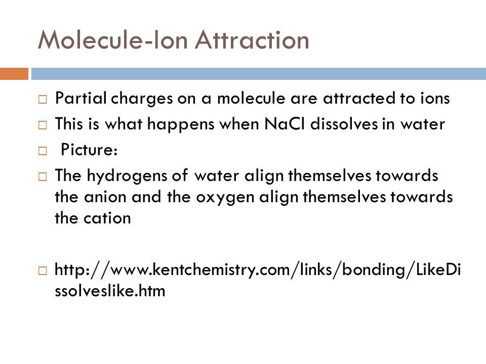 Molecule-Ion Attraction