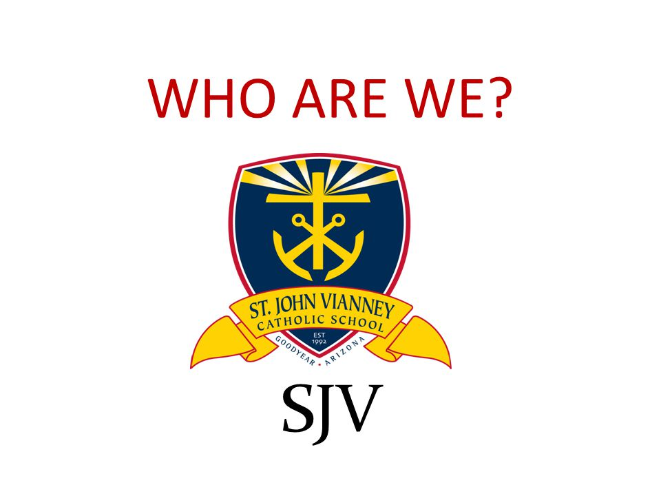 WHO ARE WE SJV