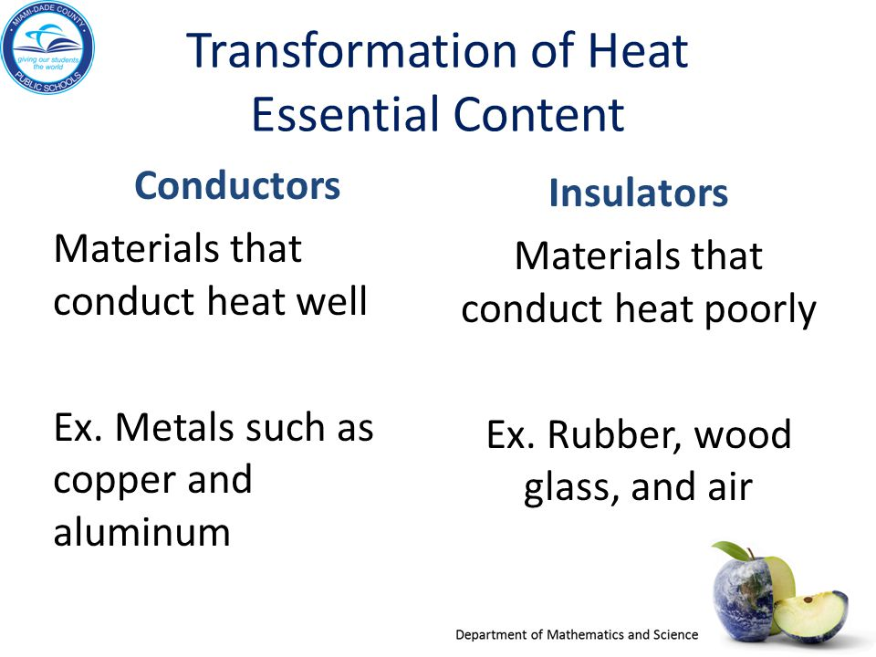 Transformation of Heat Essential Content