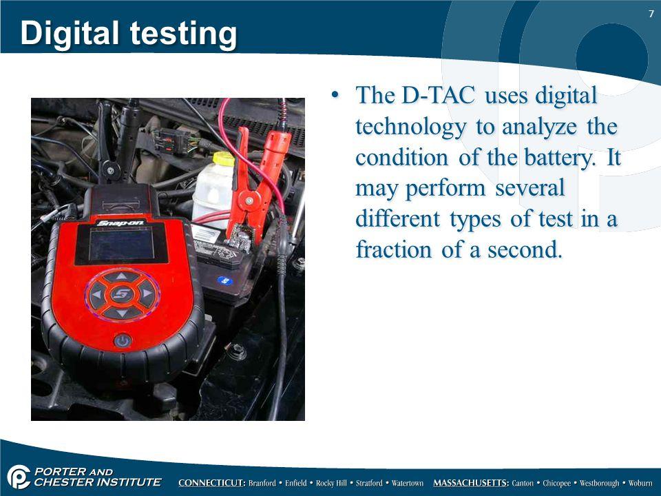 Digital testing