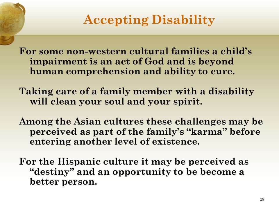 Accepting Disability