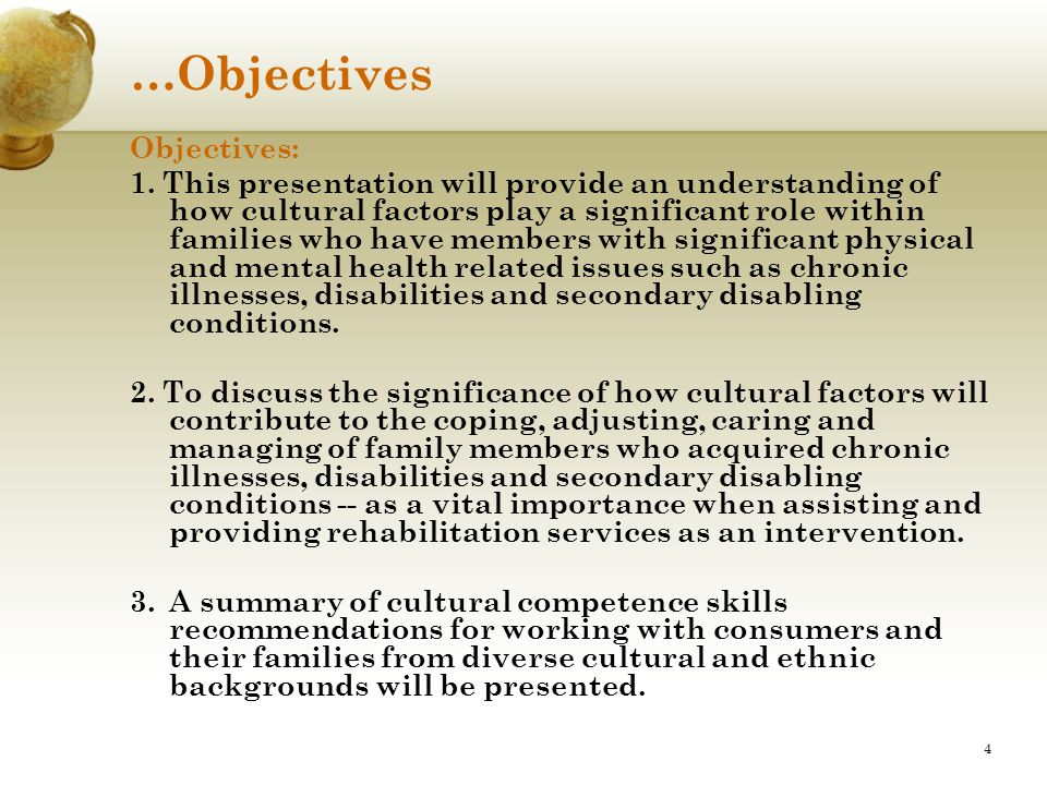 …Objectives Objectives: