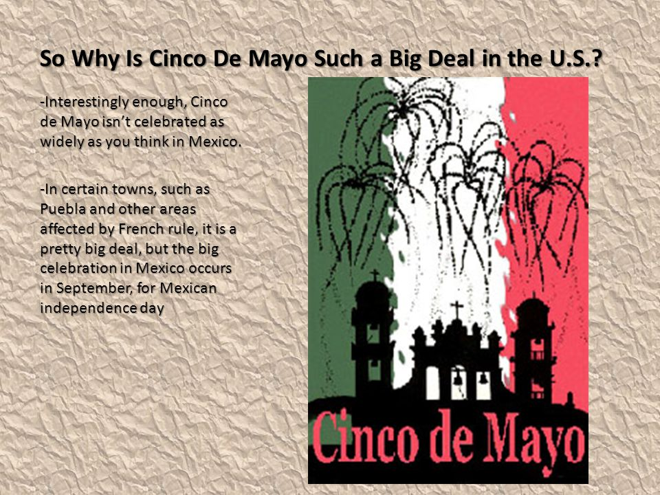 So Why Is Cinco De Mayo Such a Big Deal in the U.S.