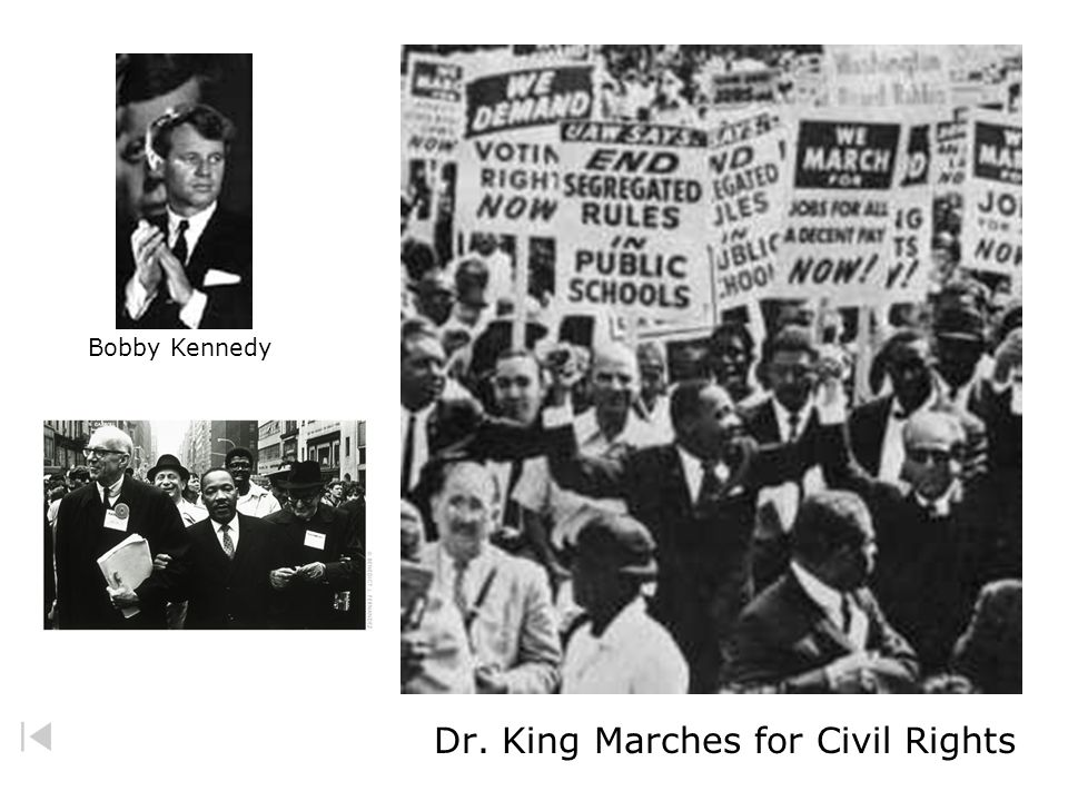 Dr. King Marches for Civil Rights