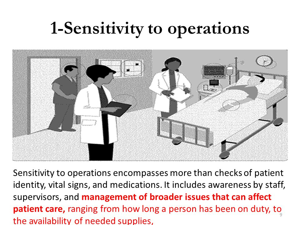 1-Sensitivity to operations