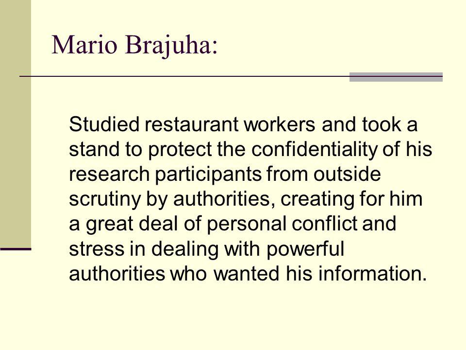 Mario Brajuha:
