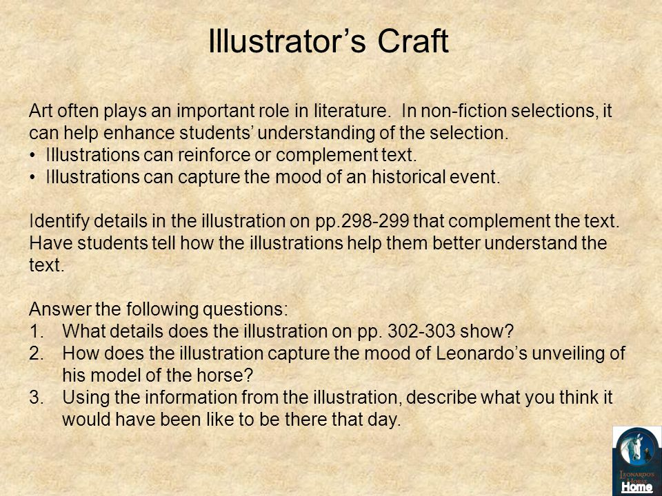 Illustrator's Craft