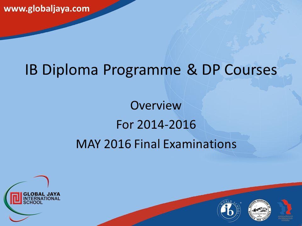 IB Diploma Programme & DP Courses